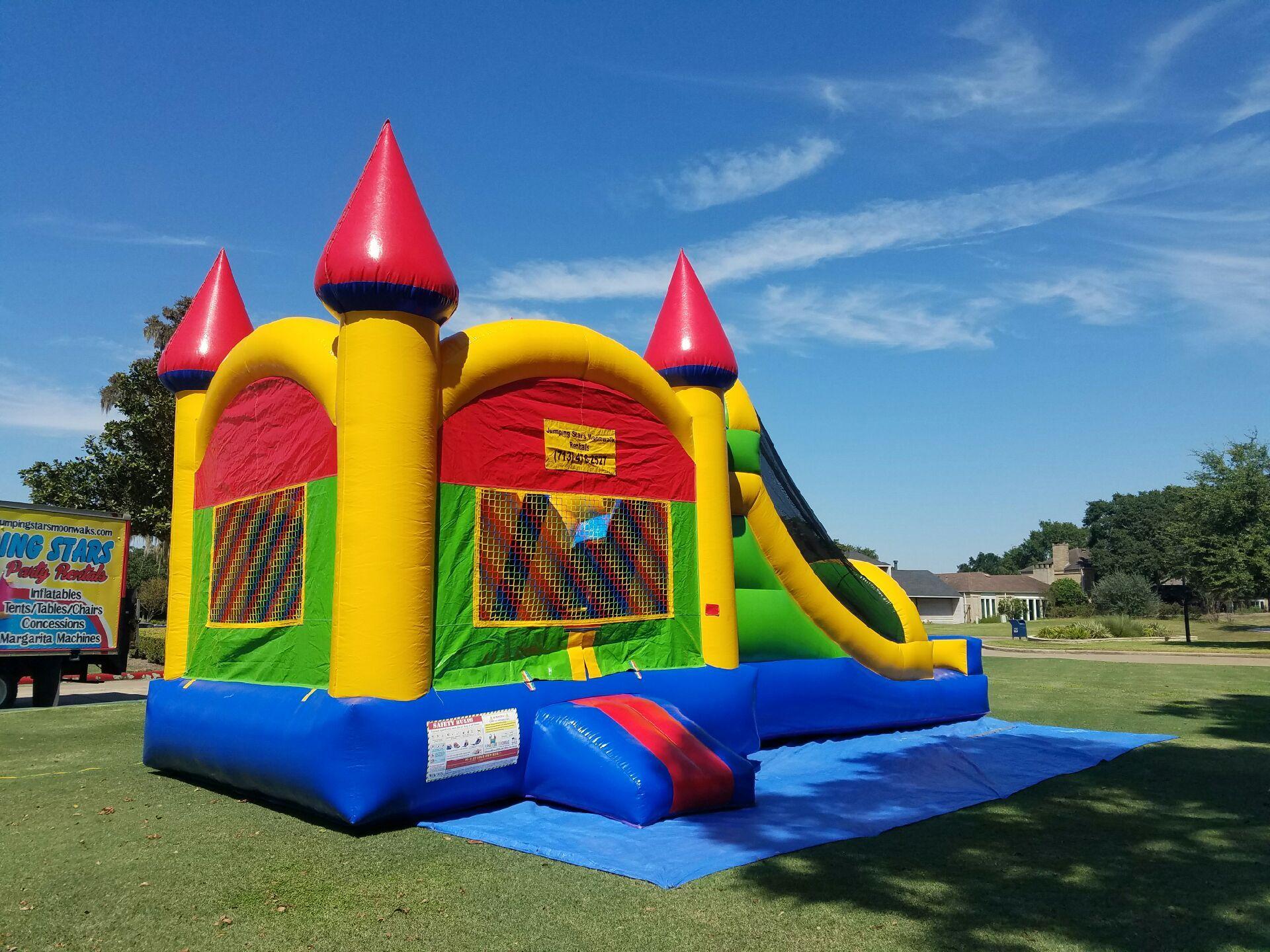 JUMPING STARS PARTY RENTALS & Castle Dry Combo (13u0027x30u0027) $150.00 plus tax