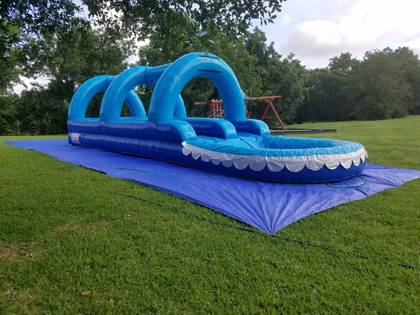 33' long Double Lane Slip And Slide $200.00+ Tax